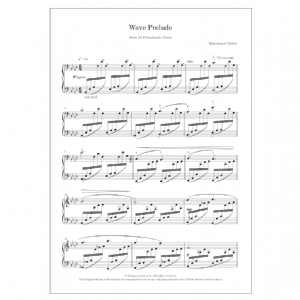 Wave Prelude (No. 4 from 15 Preludes for piano)   DIGITAL -  Iain James Veitch